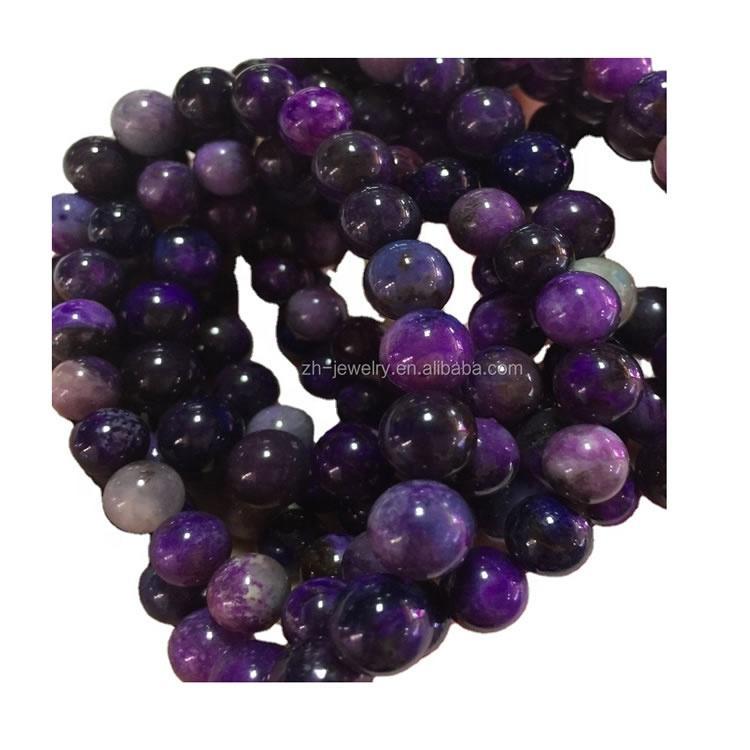 High quality sugilite round beads bangle/bracelet make wholesale