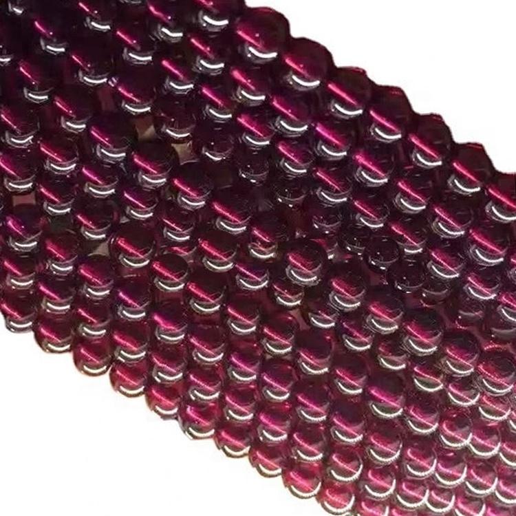 Natural purple Amethyst beads Bracelet