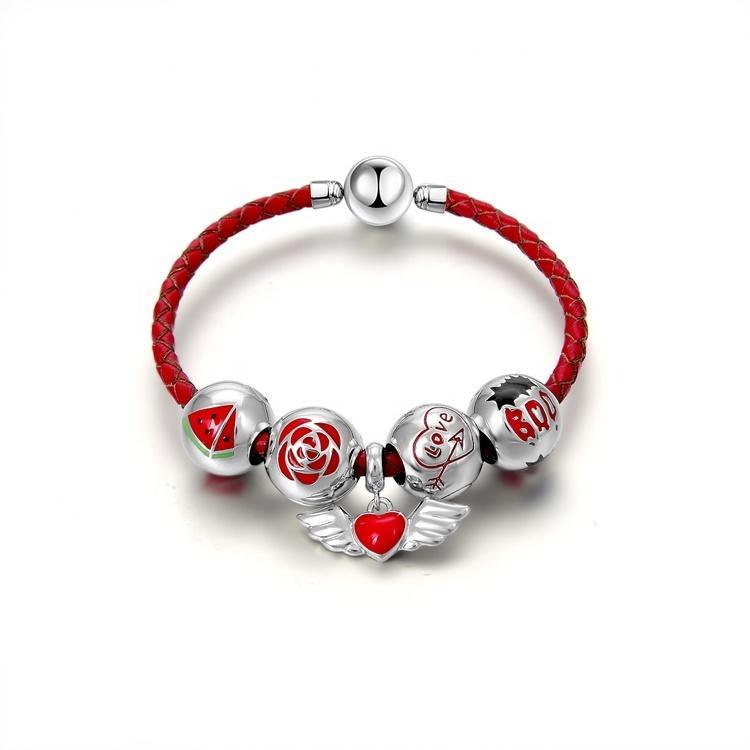 2021 women Jewelry    gift  New Fashion  Sterling Silver Bracelet