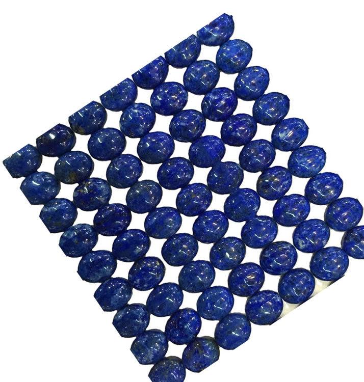 Natural Lapis Lazuli Oval Lapis Cabochon Loose Gemstones Smooth Cabochon