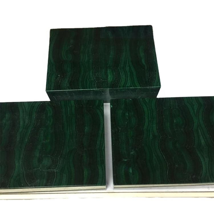 Natural Malachite  box make wholesale