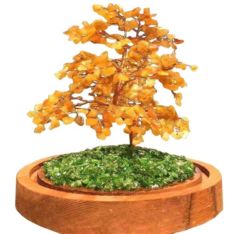 Hot sell Simple models  Natural  Gemstone Tree