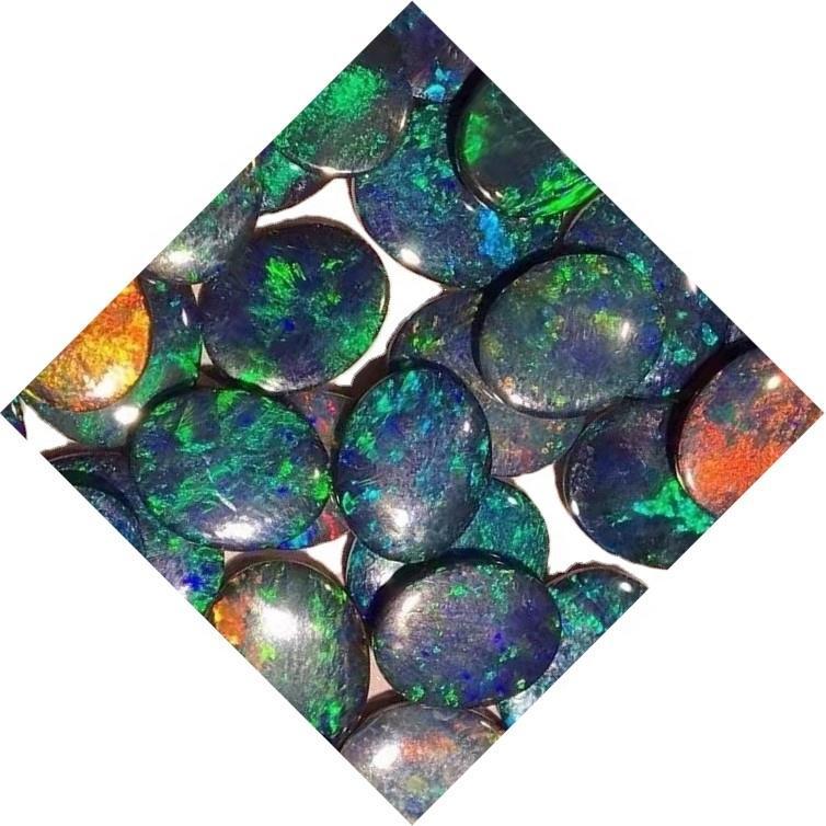 Ethiopian Opal Cabochons jewelry