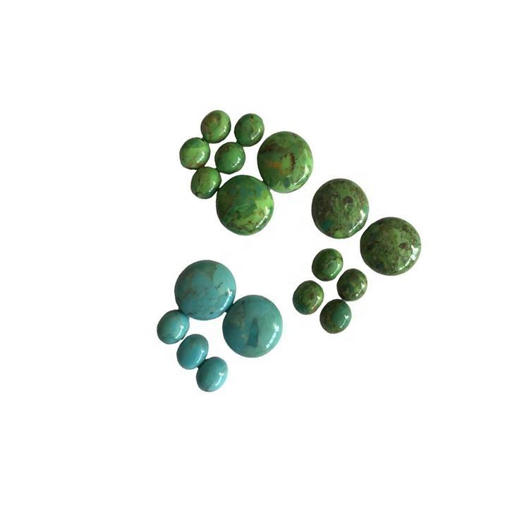 100% natural rough Compressed Irregular turquoise cabochons
