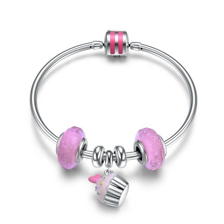 New Fashion Womens  925 Sterling Silver Bracelet