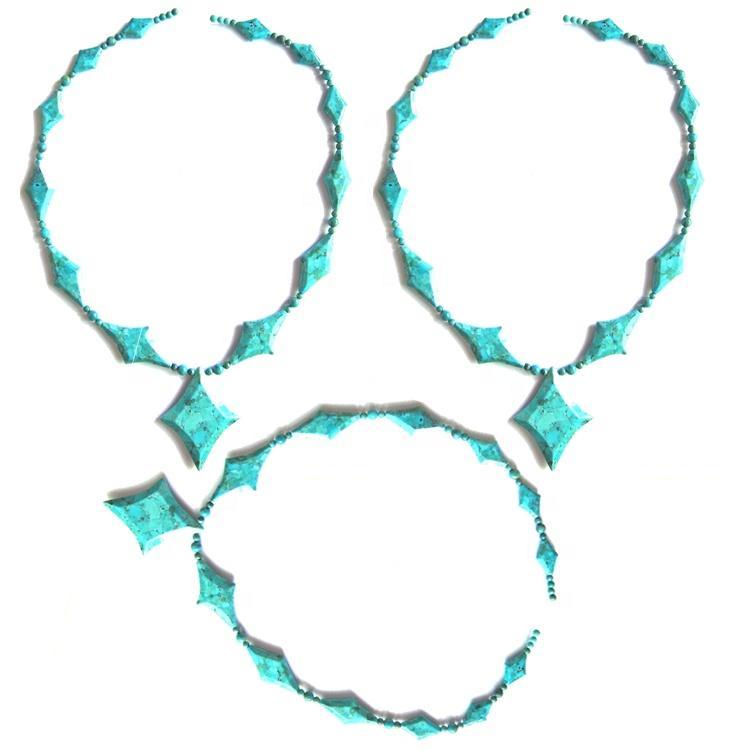 New style kingman turquoise necklace jewelry