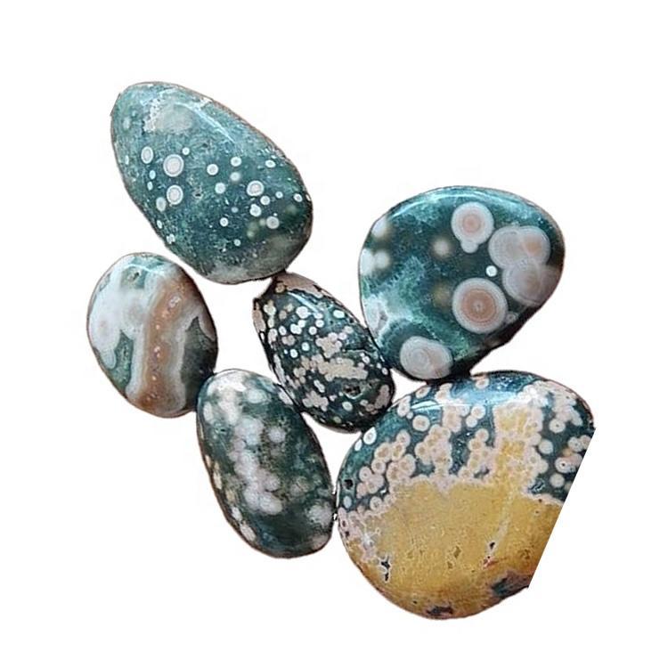 Natural Ocean Jasper Cabochon Best Quality Gemstone Handmade Wholesale Price Ocean Jasper Handmade Gemstone