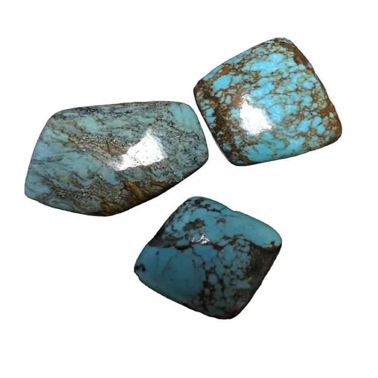100% natural turquoise  cabochons hot-sale