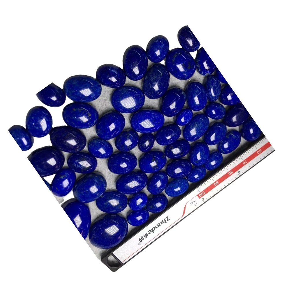 Natural Lapis Lazuli Oval Cabochon Calibrated size Loose Gemstone