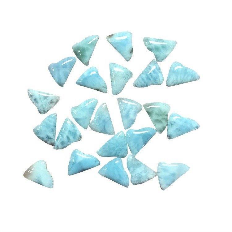 Wholesale  Natural Larimar irregular shape cabochon  gemstone