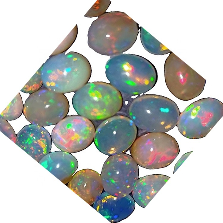 Hot Sale polymer impregnated Synthetic Oval Opal