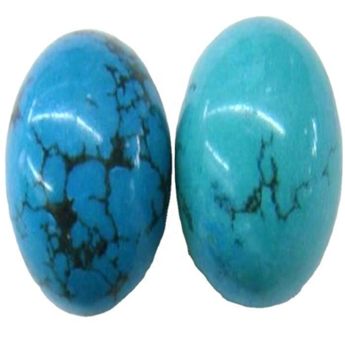 Turquoise ball beads Aqua blue Turquoise stone  Turquoise Round Ball loose beads