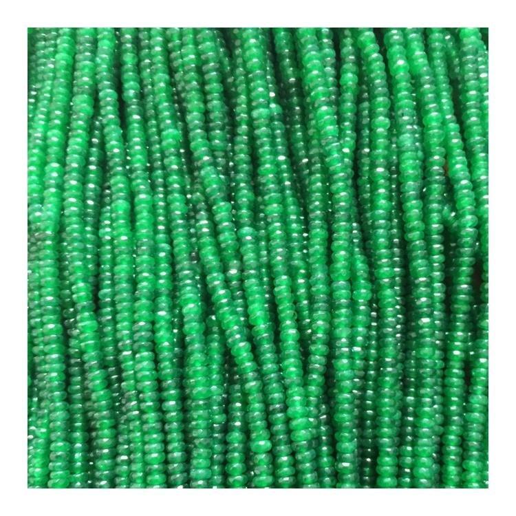 5mm 5.25mm 5.5mm 5.75mm unartificial lustrous apple green semi beads agate strand