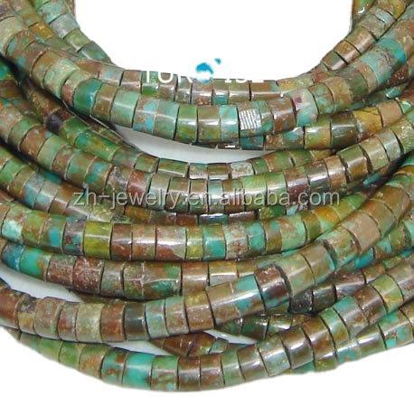 Natural Tibetan Turquoise Heishi Gemstone beads