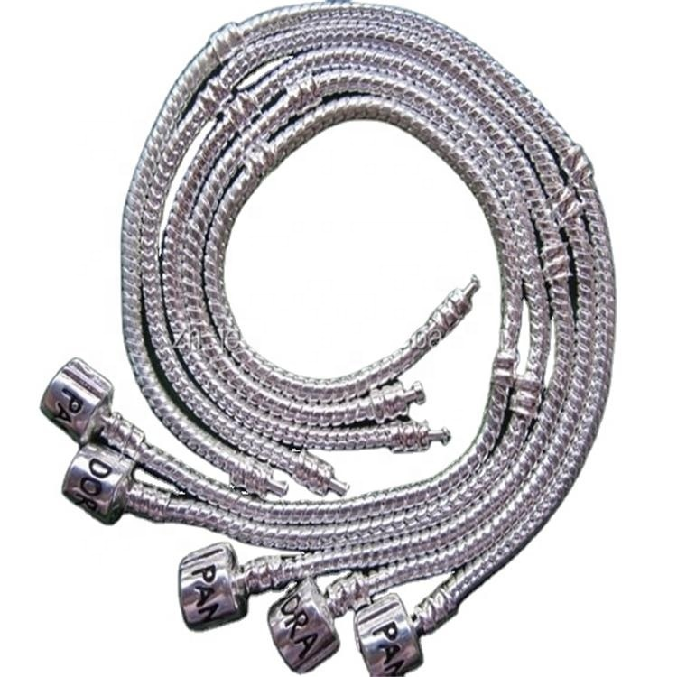 Sterling 925 silver - rhodium plated chain bracelet