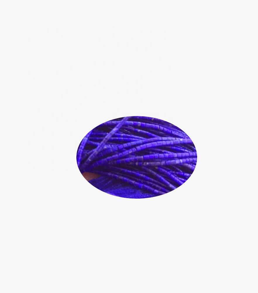 Lapis lazuli heishi stone beads from Afghanistan make wholesale