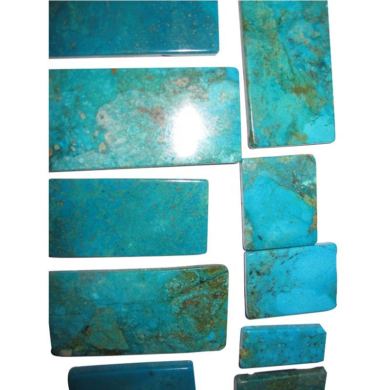 Turquoise Composite American naturally  turquoise rough material block