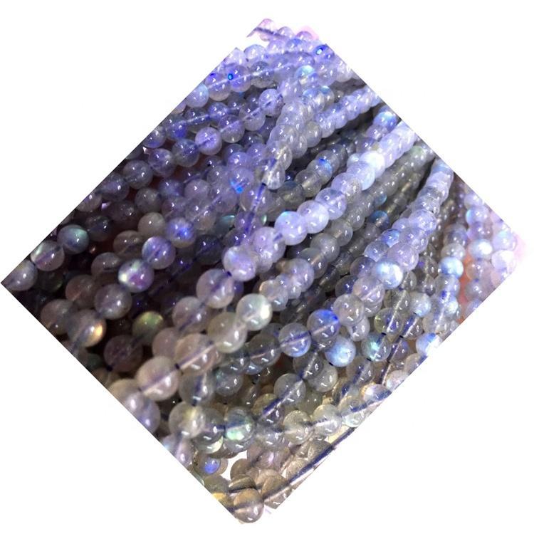 blue light labradorite rough natural semi-precious stone beads frican jewelry beads