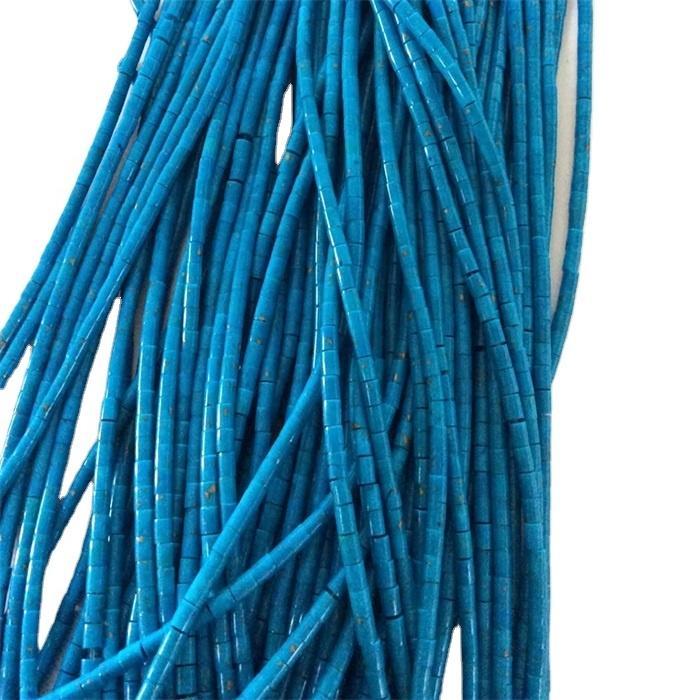 100% Natural Turquoise Heishi shape beads
