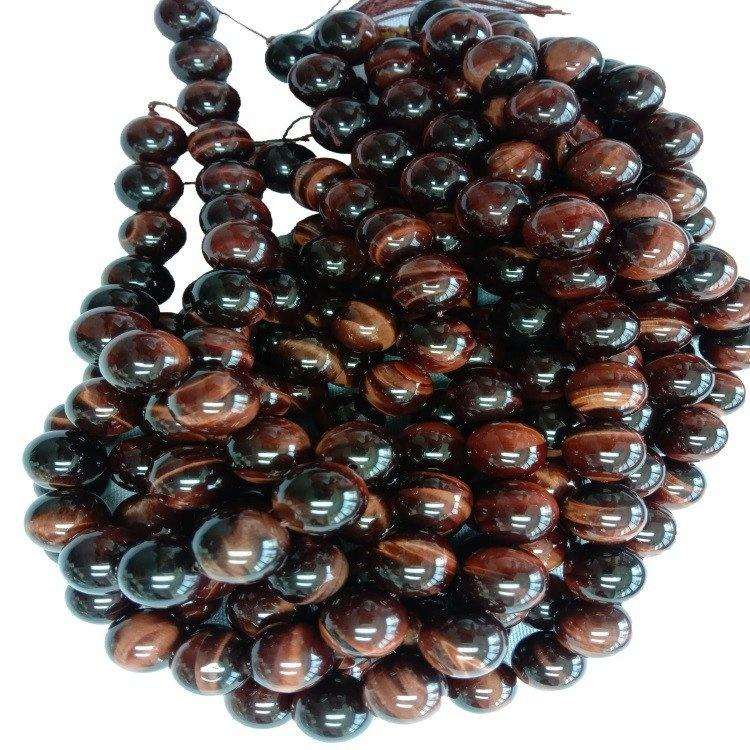 Natural Tiger Eye Beads Round Gemstone Wholesale Brown Yellow Gold Spherical Stone Beads 6mm 8mm 10mm 12mm for Jewelry making