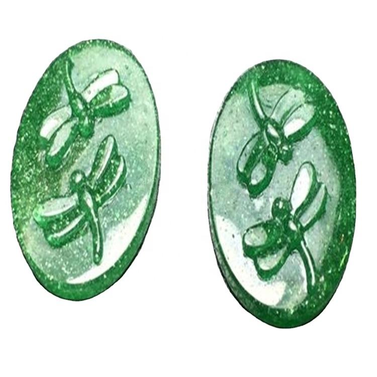 Green Strawberry quartz carving