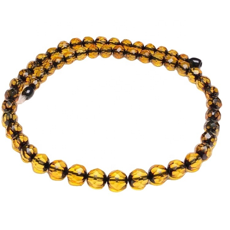 2021 popular  amber beads  necklace jewelry