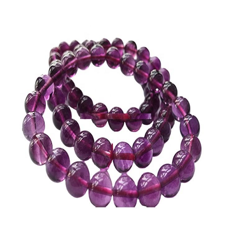 Top Color Amethyst Beaded Bracelet Bangle for Women jewellery