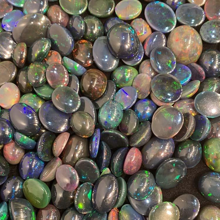 naturally opal Gemstone cabochons for Jewelry