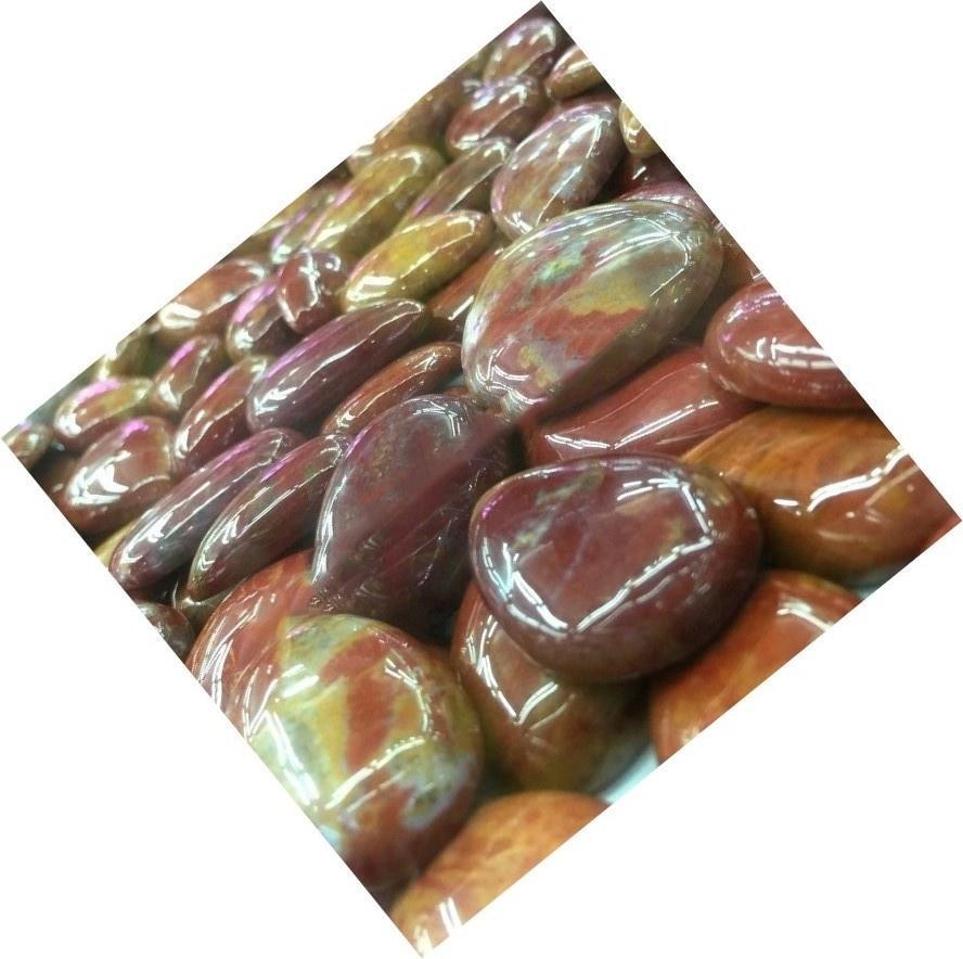 Natural Montana Agate Gemstone Montana Agate Pear Shape Montana Agate Cabochon Loose