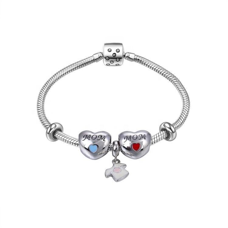 Real Natural Crystal 925 Sterling Silver Jewelry  Bracelet Gift