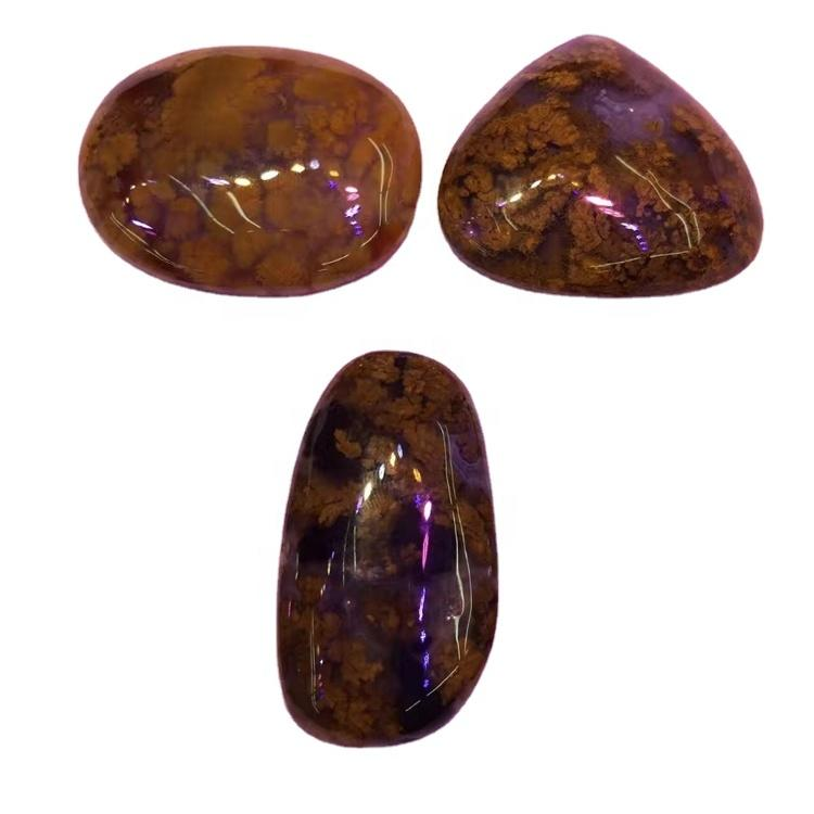 Moss Agate Cabochon Moss Agate Stone Natural Gemstone Cabochon - Stone Cabochon