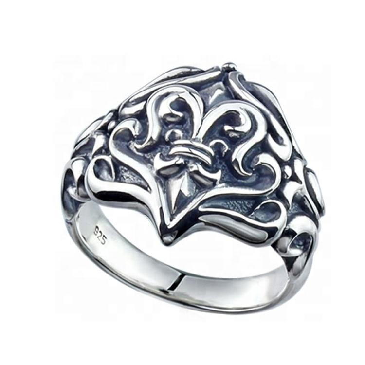 charm European 925 sterling silver ring