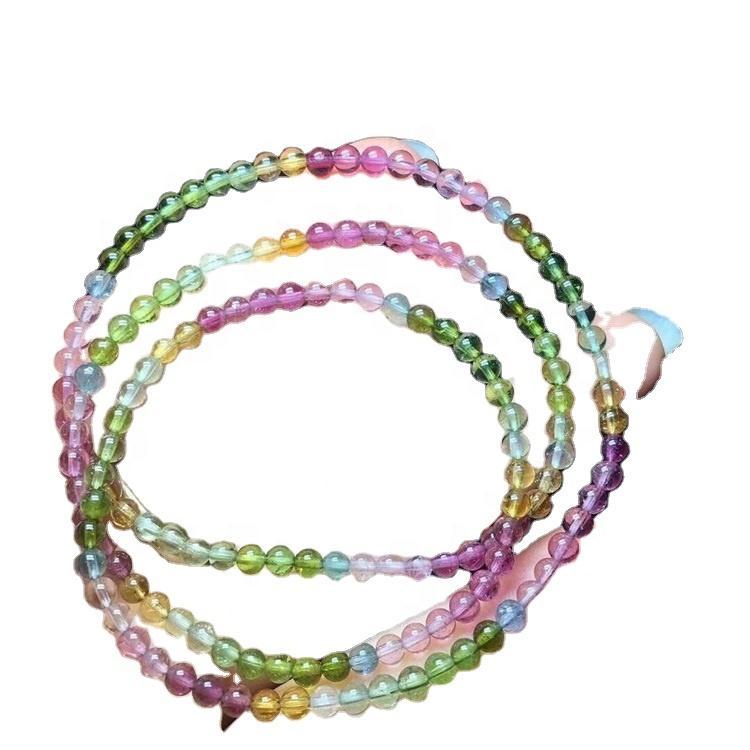 Natural Tourmaline Round beads Energy Loose Gemstone Beads