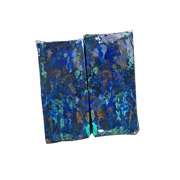 Lapis Malachite Turquoise compressed block