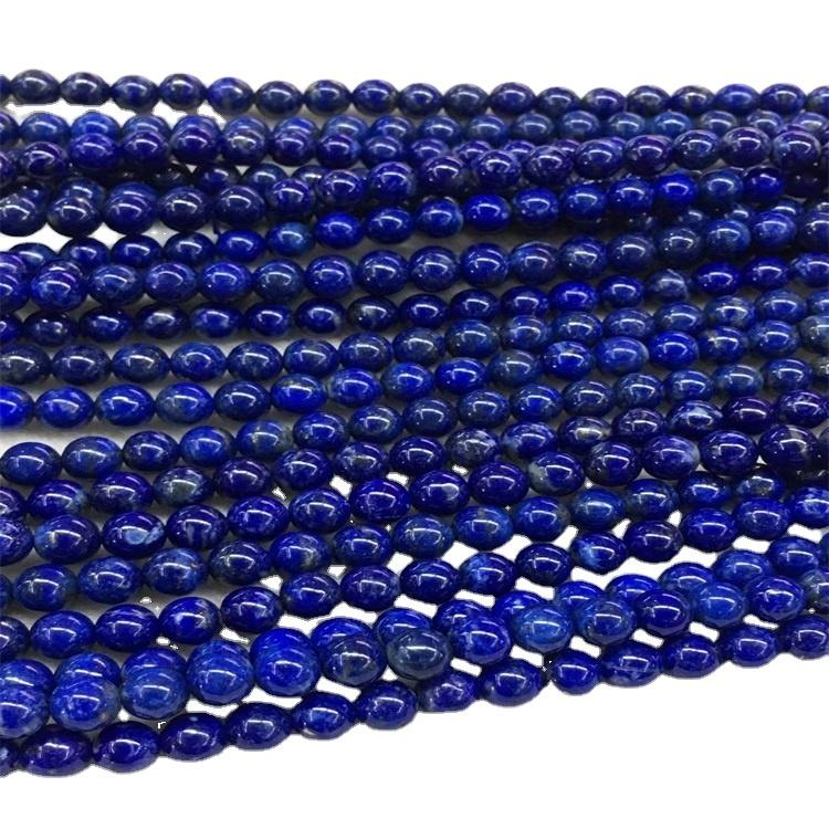 Grade 3A 2mm Round Brilliant Cut Shiny Round Faceted Lapis Lazuli Beads