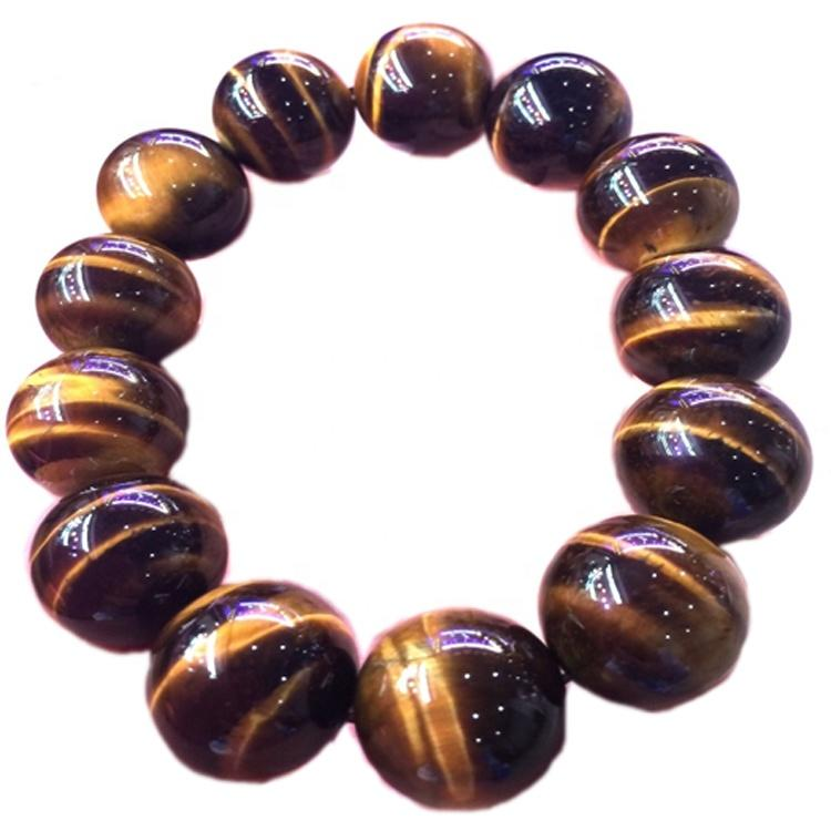 Tiger eye beads jewelry make wholesale Natural Tiger\'s Eye 4mm 6mm 8mm