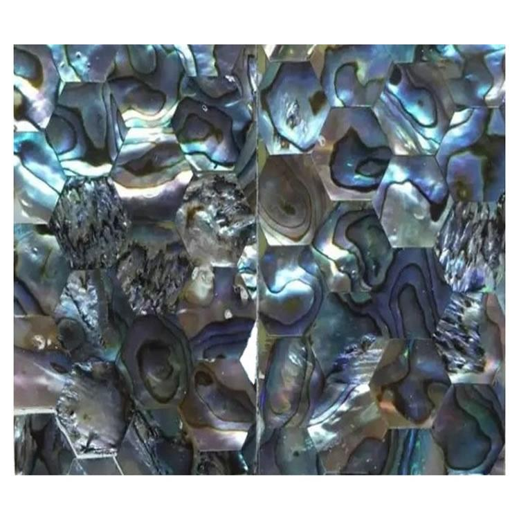 The mother of pearl shell handmade mosaic cabochons jewellery Abalone Shell loose cabochon