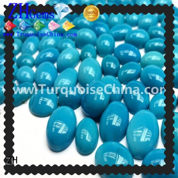 best natural sleeping beauty turquoise cabochons supply for necklace