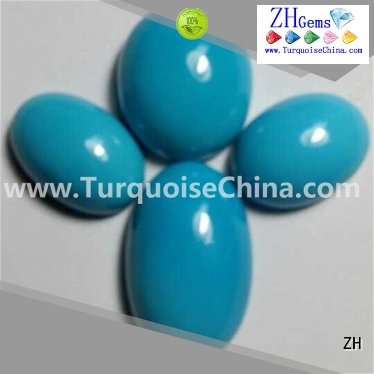 ZH genuine sleeping beauty turquoise professional supplier for earings
