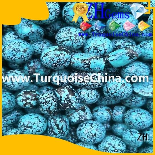 ZH turquoise jewelry beads professional supplier for jewelry making