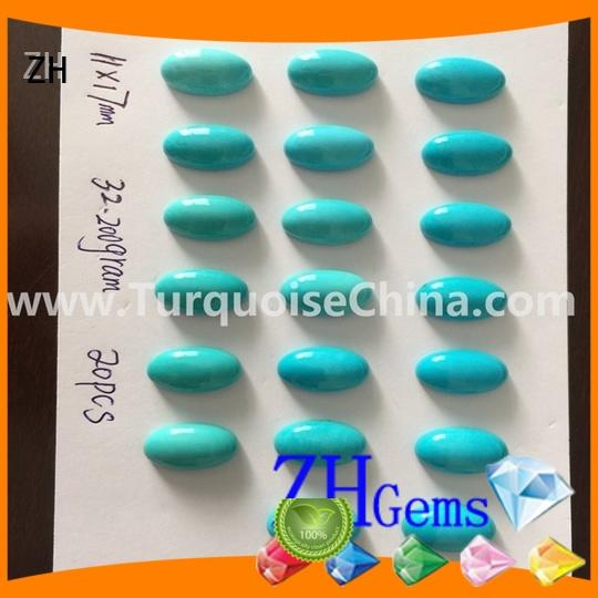 good quality sleeping beauty turquoise cabochon supplier for ring