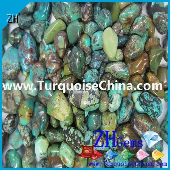 ZH good quality turquoise nugget beads reliable supplier for jewelry making