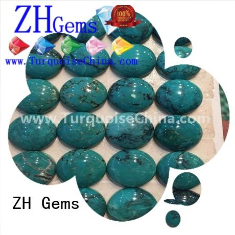 top rated loose turquoise stones wholesale professional supplier for bracelet