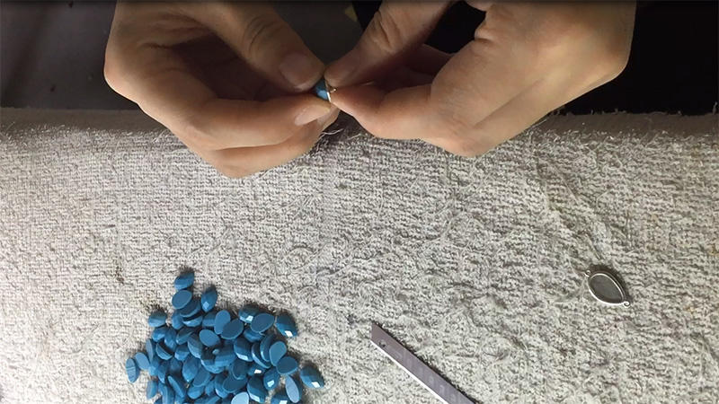 Each stones need fit the casting
