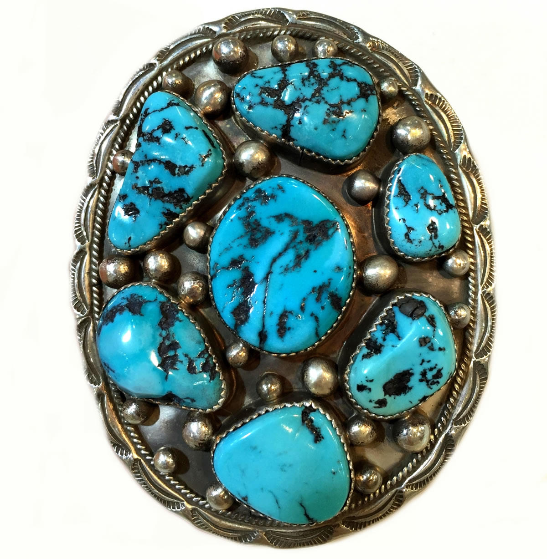 Turquoise Belt, Natural Genuine Turquoise Stone Belt