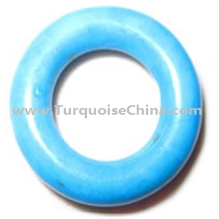 Natural Compressed Turquoise Bangle & Bracelet