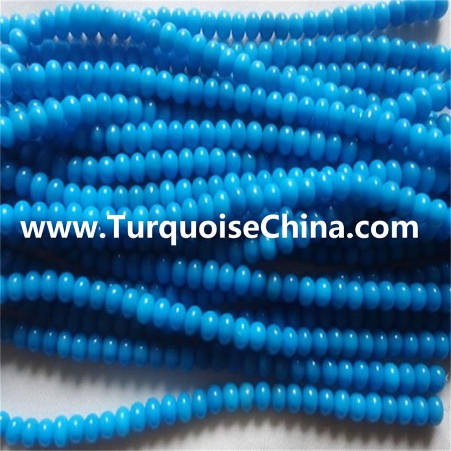 Naturally Turquoise Abacus Beads mass quantity make wholesale