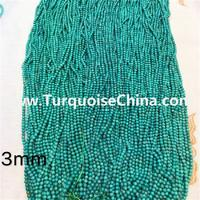 2mm 2.5mm 3mm 3.5mm 4mm 4.5mm 5mm smaller naturally turquoise round beads gemstone jewelry