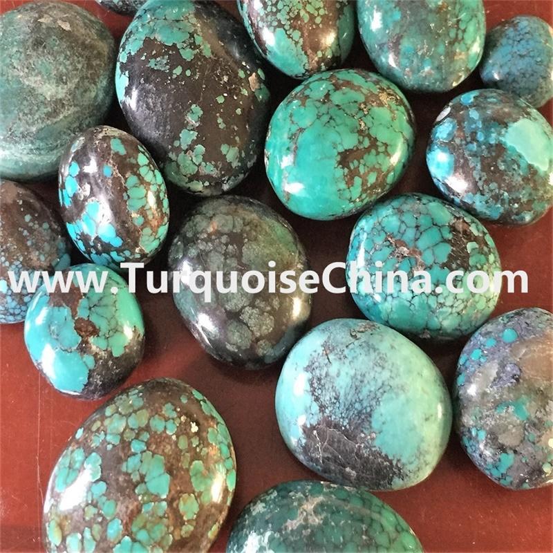 Tibet naturally Oval Turquoise Beads gemstone jewellery