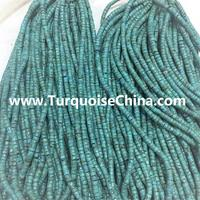 Natural Green Bule Turquoise Heishi Beads Various Sizes